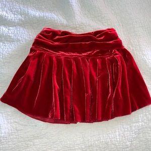 Other - Girl's 3T Red Velvet Skirt